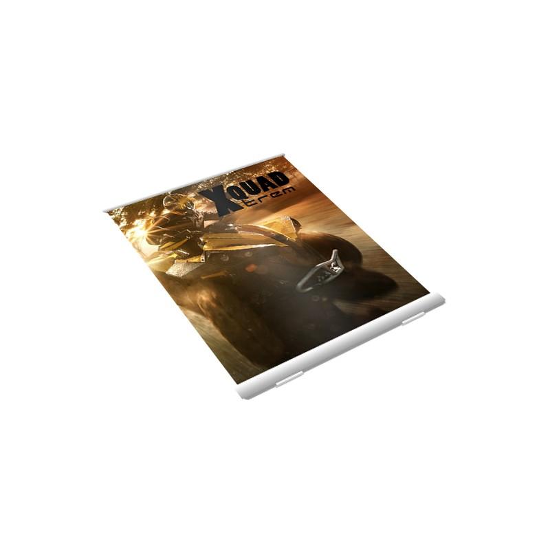 Imprimerie totem enrouleur grand format bas prix for Totem enrouleur