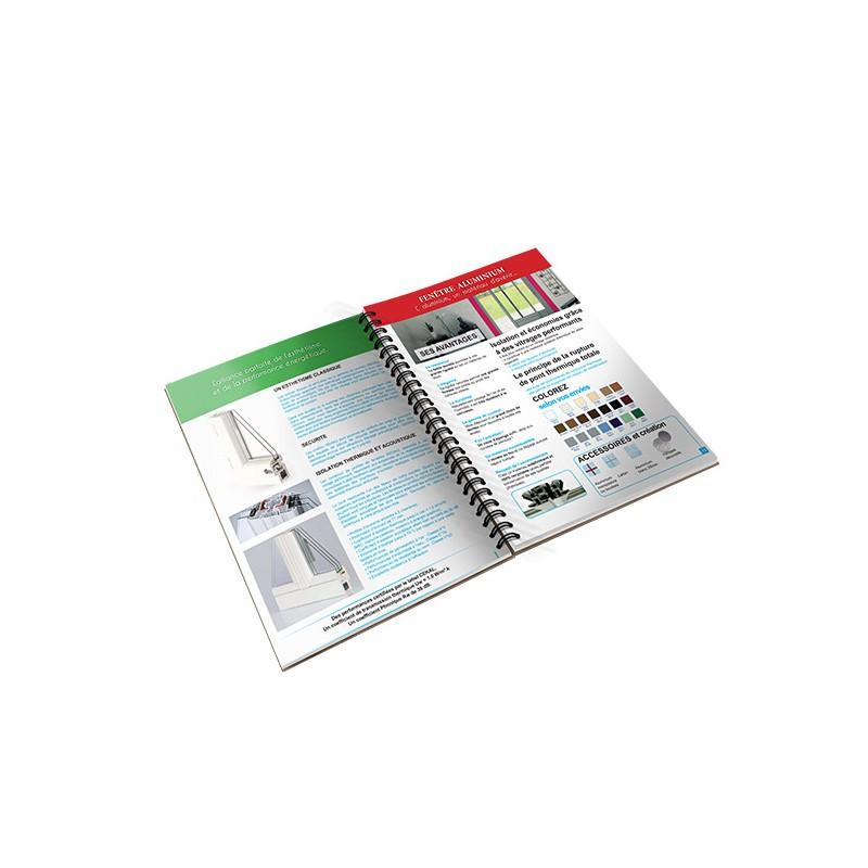 impression livre spirale m talique imprimer brochure spirale m tallique romans po mes. Black Bedroom Furniture Sets. Home Design Ideas