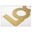 Lettrage et logo en Alu Dibond -19 mm
