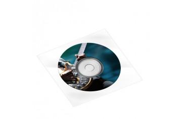 CD/DVD en pochette plastique