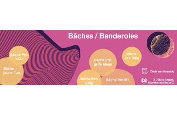 Bâches - Banderoles