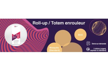 Roll-Up - Totem enrouleur