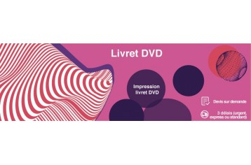 Livret DVD