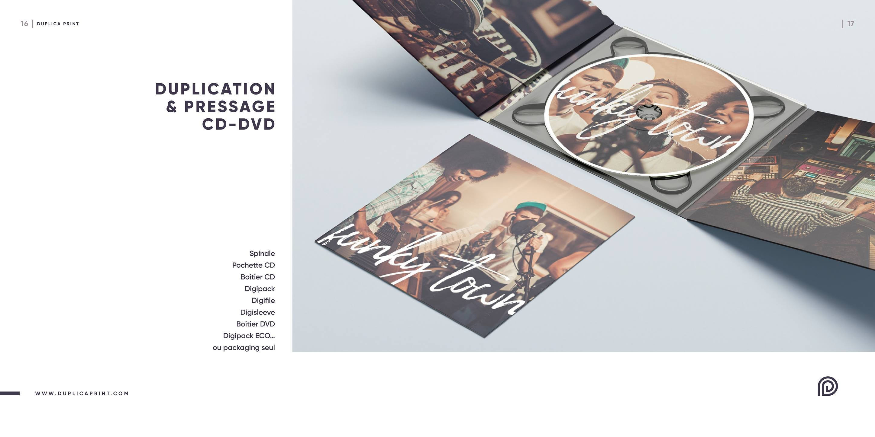 Duplication & pressage CD / DVD